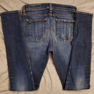rag & bone Jeans - rag & bone High Rise Skinny Jeans
